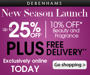 Debenhams.com – New Season Collection