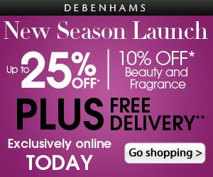 Debenhams.com – New Season Collection