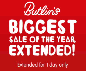 Butlins.com/extended12 – Save 50%